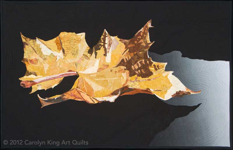 Gold Leaf by Carolyn King