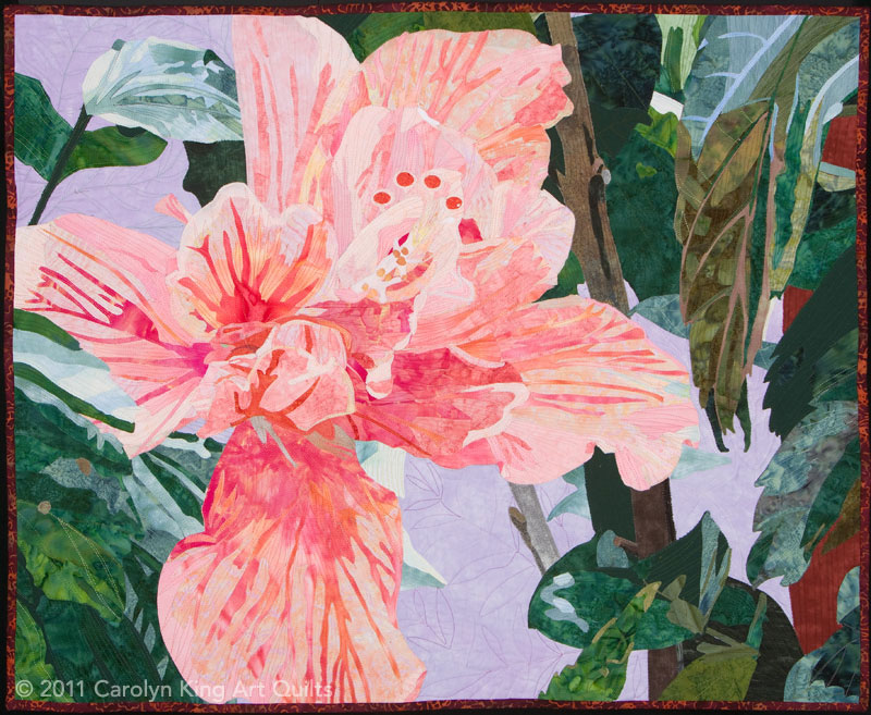 Hibiscus by Carolyn King